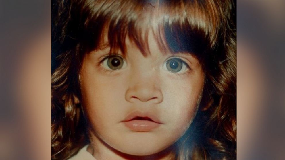Lizzie Valverde is seen in this photo from her childhood.
