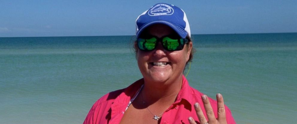 PHOTO: A metal detecting club in St. Petersburg, Florida helped a bride find her lost ring.