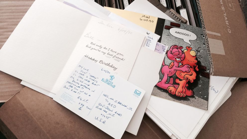 Bill Bresnan has written a love letter every day to  his wife  Kirsten Bresnan.