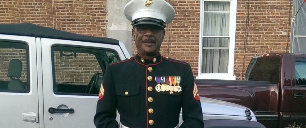 PHOTO: Retired Marine Cpl. Lewis Alston