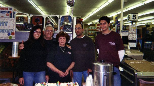 PHOTO: Mario Casciaro, far right, is seen here at Vals Foods with his family