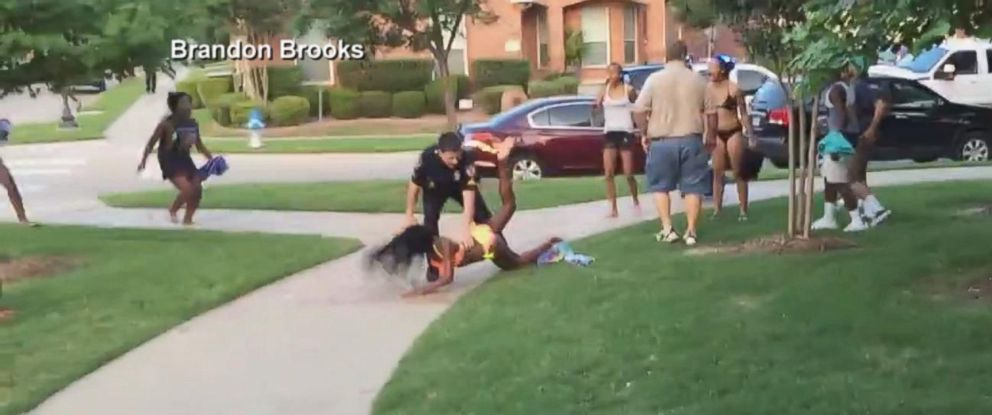 PHOTO: A McKinney, Texas, police officer was placed on administrative leave after video surface of him tossing a teen girl to the ground June 5, 2015.