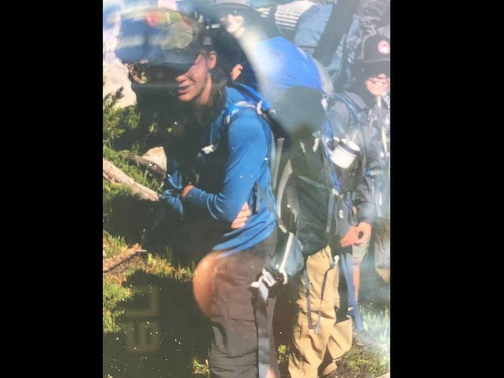 PHOTO: Garrett Hunter of Draper, Utah, was hiking in a mountain area near Pinedale, Wyoming, on Saturday when he somehow got separated from his Boy Scout group.