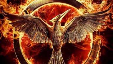 """PHOTO: A promotional poster for """"The Hunger Games: Mockingjay - Part 1."""""""