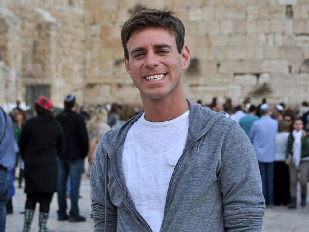 PHOTO: Mordechai Levovitz is pictured here as an adult at the Western Wall in Jerusalem.