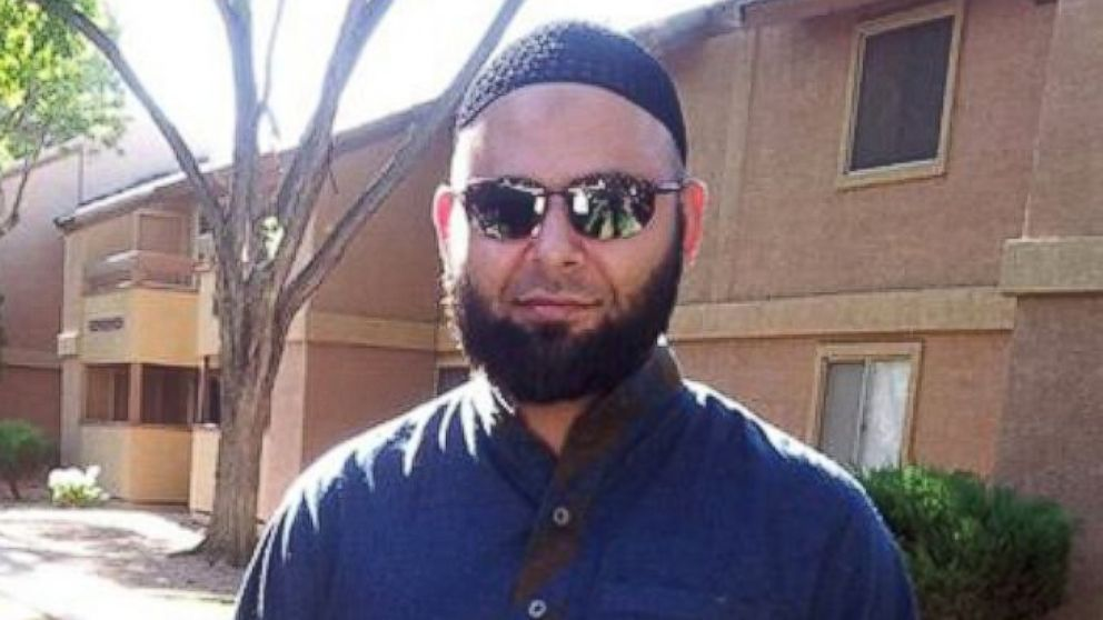 Nadir Soofi is seen in this image posted to Facebook, outside his Phoenix apartment complex.