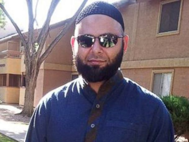 PHOTO: Nadir Soofi is seen in this image posted to Facebook, outside his Phoenix apartment complex.