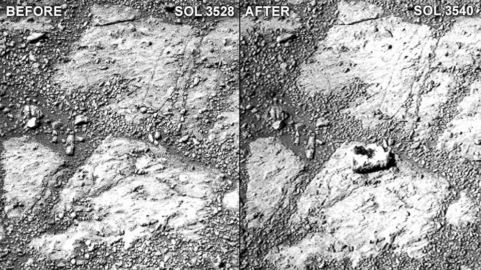 NASA Sued for Failing to Investigate Martian Jelly-Donut Rock