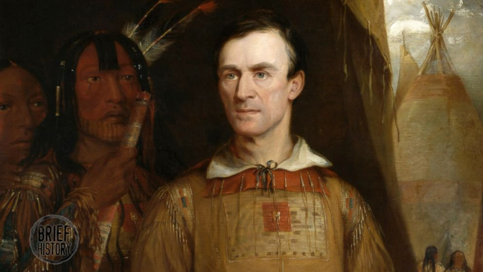 An 1838 painting depicts George Catlin.