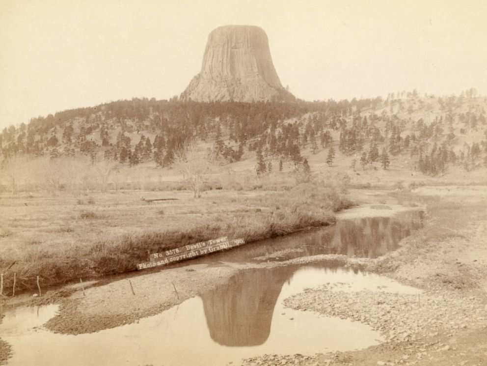 PHOTO: Devils Tower was declared the first National Monument in 1906.