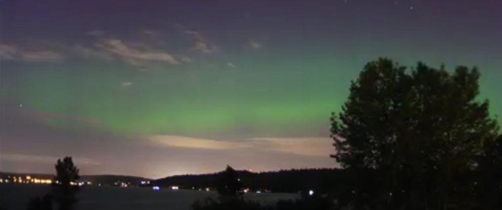 Stunning Northern Lights Display Fills Seattle Sky