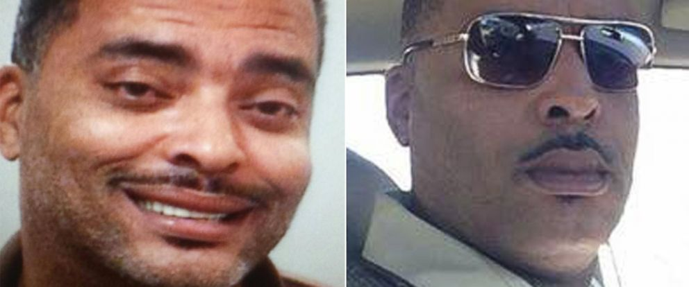 "PHOTO:Fugitive 45-year-old Donald A ""Chip"" Pughs mugshot and the selfie he sent Lima Police Department in Ohio because he didnt like his mugshot are pictured."