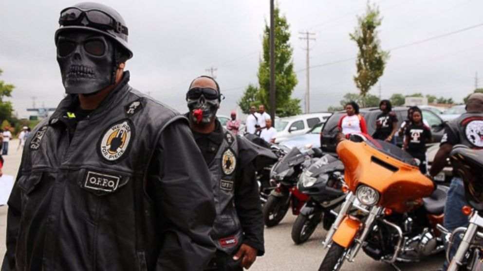 Meet the Biker Group Who Says It's Set on Keeping Ferguson Safe