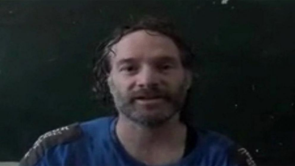 American journalist Peter Theo Curtis is shown in this image.