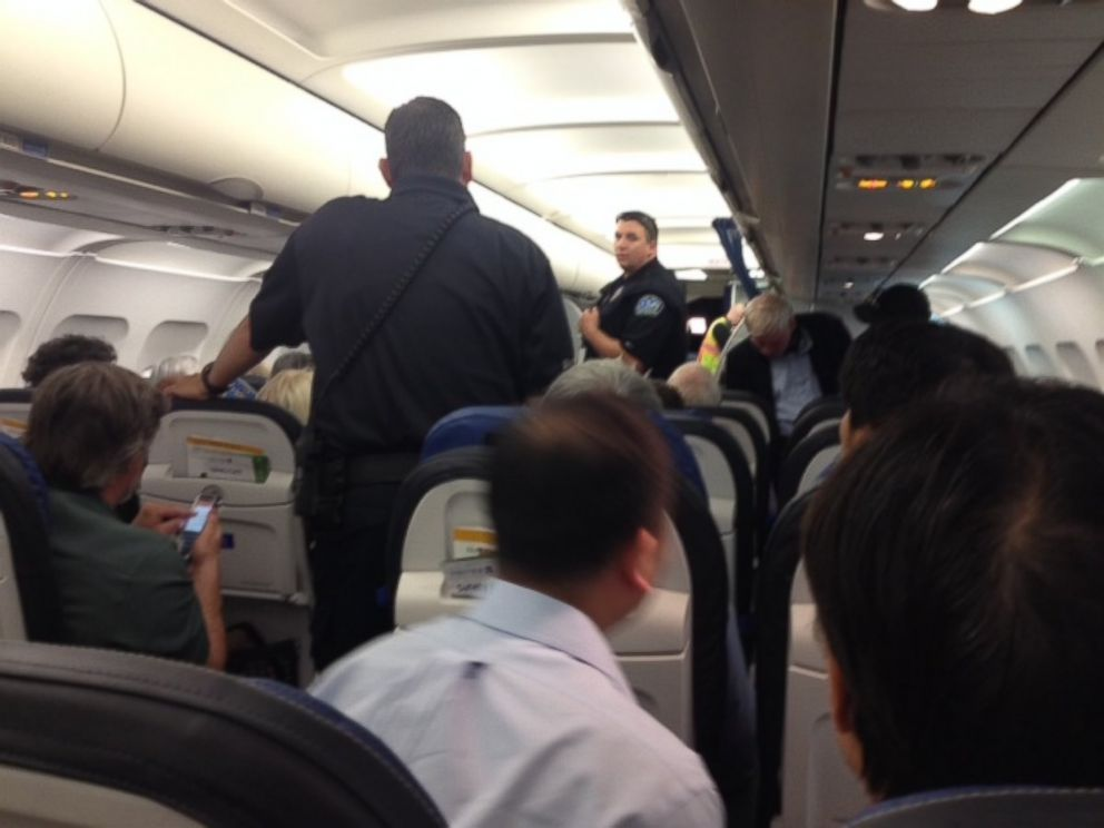 PHOTO: Jodi Smith, a passenger sitting three rows behind Juliette, said this was the epitome of discrimination.