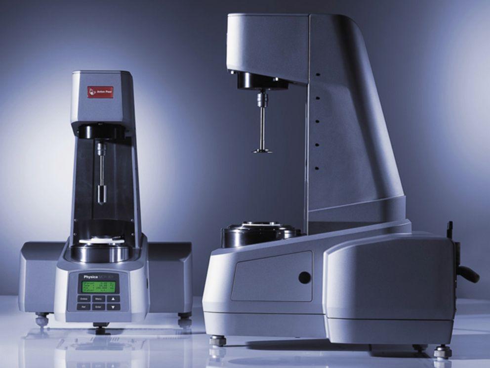 PHOTO: Rheometer Anton Paar model MCR is seen here, April 26, 2004.