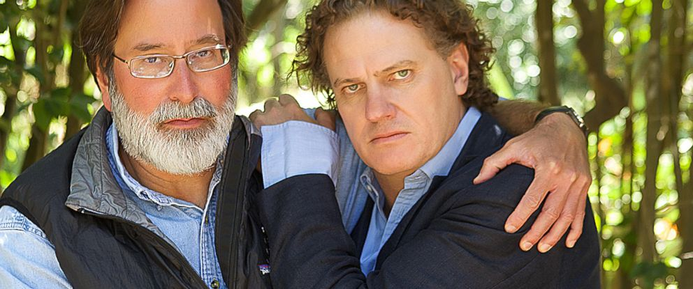 PHOTO: Richard Martinez and Peter Rodger meet in Santa Barbara, Calif. on June 1, 2014.