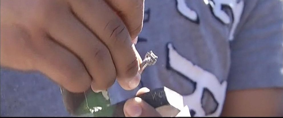 PHOTO:Eric Lopez has found the engagement ring he lost after a wildfire destroyed his Loch Lomond, California, home.