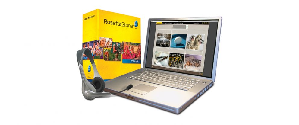 PHOTO: Rosetta Stone software is seen here.