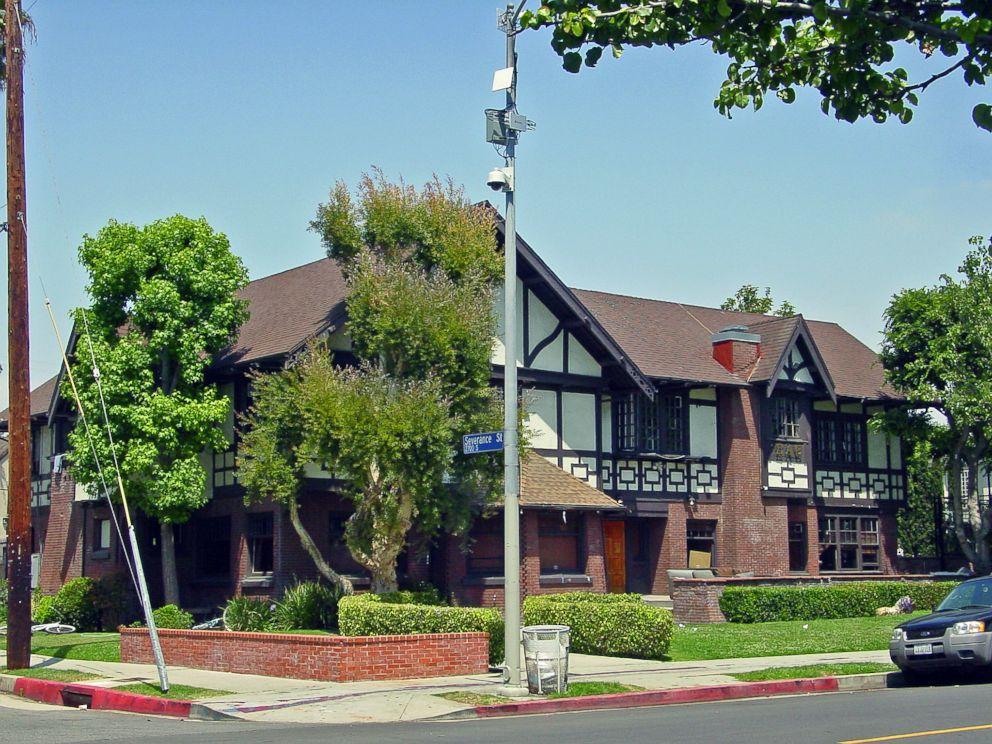 PHOTO: The former Sigma Alpha Epsilon house at the University of Southern California