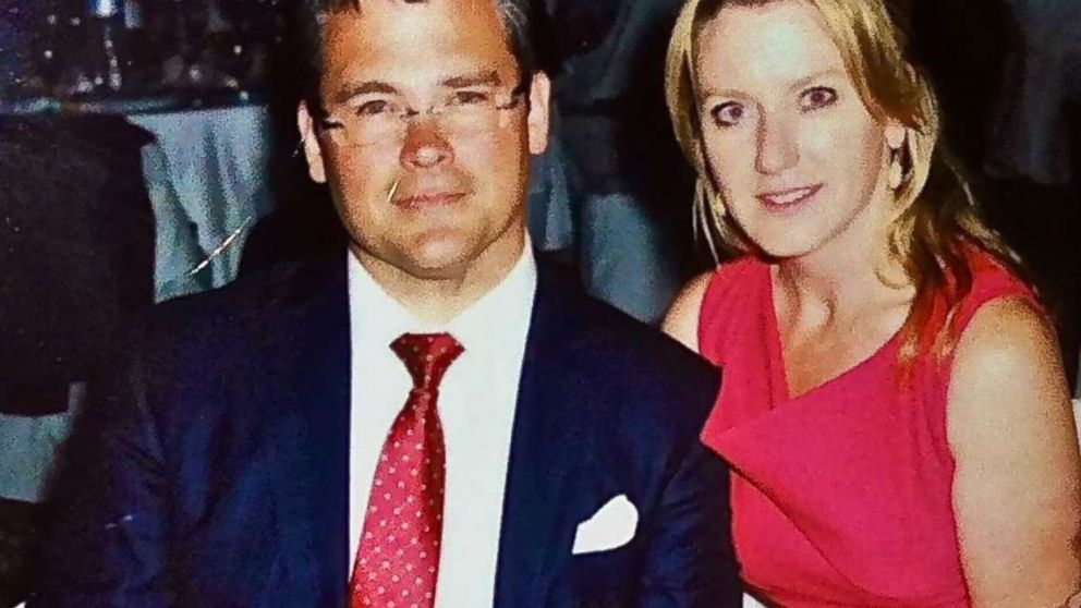 Savvas and Amy Savopoulos are shown in this photo posted to Amy Savapoulos' Facebook.