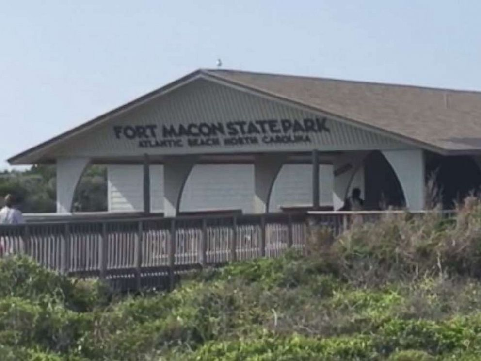 PHOTO: A 17-year-old girl was bitten by a shark while swimming at Fort Macon State Park in Atlantic Beach, North Carolina, on Sunday, June 02, 2019.