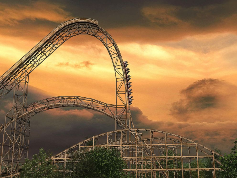 PHOTO: A rendering of Goliath, scheduled to open June 2014 at Six Flags Great America in Gurnee, Ill.