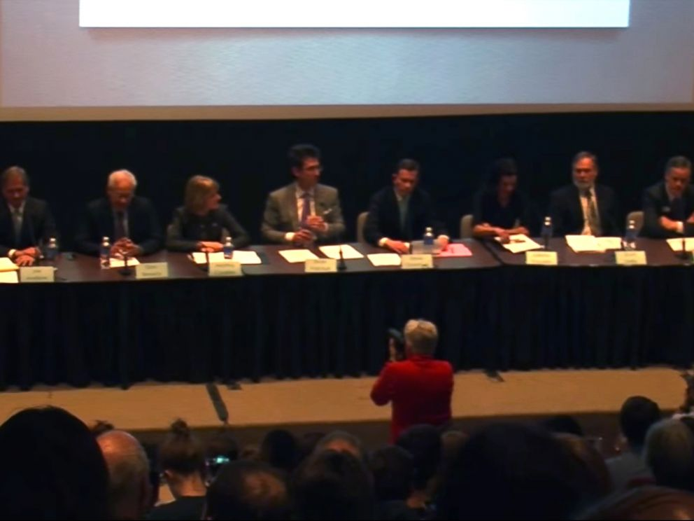 PHOTO: Steve Grossman was joined by seven other candidates campaigning to be governor of Massachusetts.