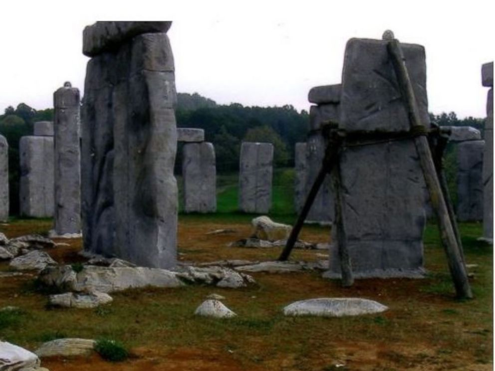 PHOTO:A replica of Stonehenge built in Virginia needs a new home.