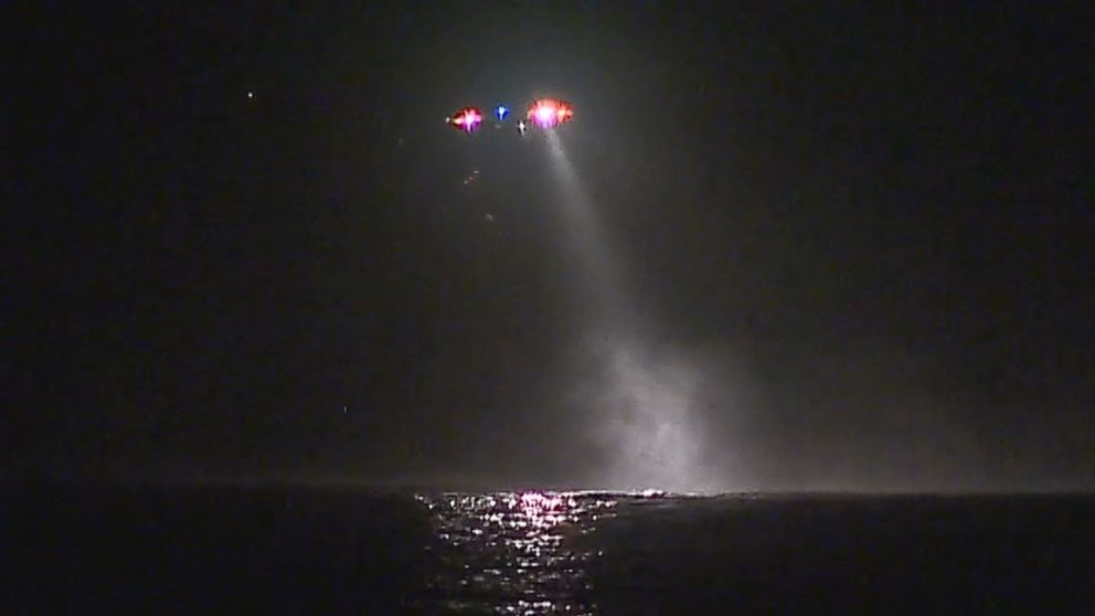A swimmer who was missing at sea off the coast of a beach in Ipswich, Massachusetts, for over four hours was rescued on the evening of Oct. 18, 2016, according to police.