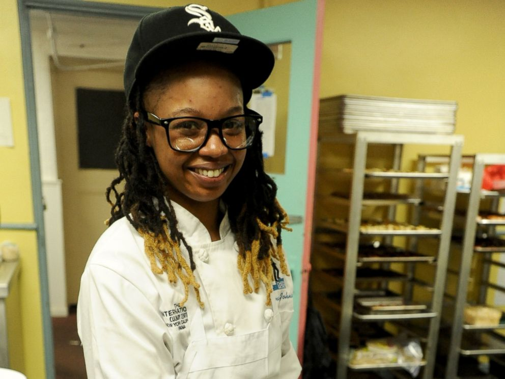 PHOTO: After graduation, Syrena Johnson returned home to work at some of New Orleans top restaurants and to help her community.
