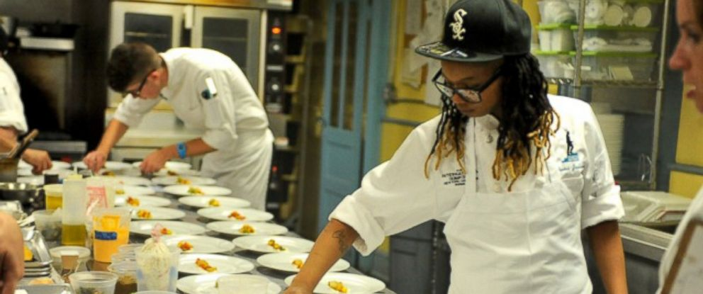 PHOTO: Chef Syrena Johnson was 15 years old when Hurricane Katrina left her family stranded at their home in New Orleans.