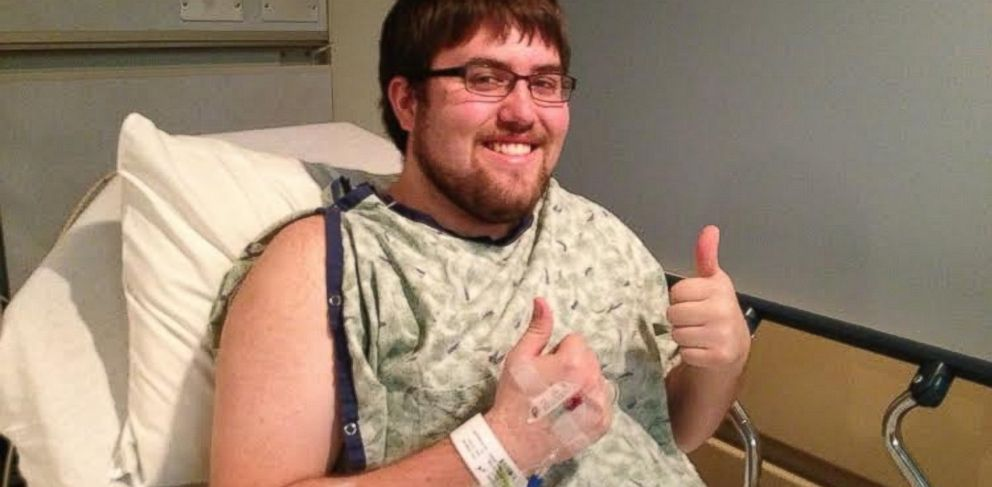 PHOTO: Tyree was in surgery to have his cancer removed days after reading a post on Reddit.