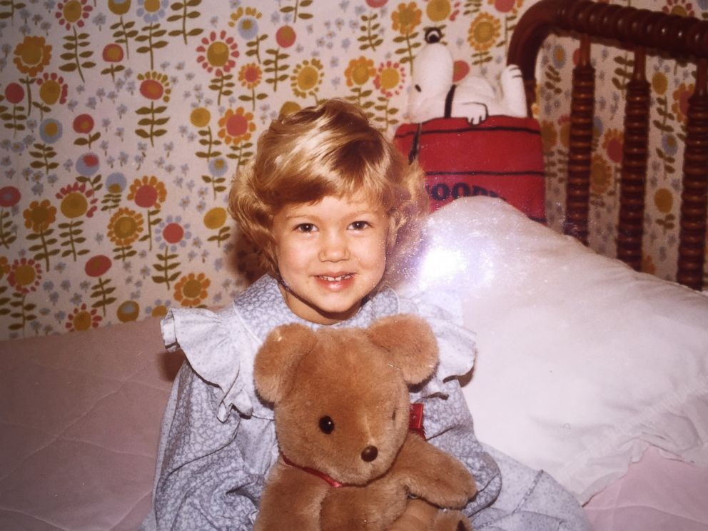 PHOTO: The bear originally belonged to Freddys mother Ashley when she was a child, seen in this undated photo.