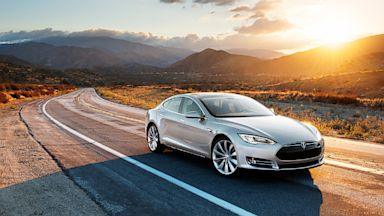 PHOTO: Tesla Stocks On Rise