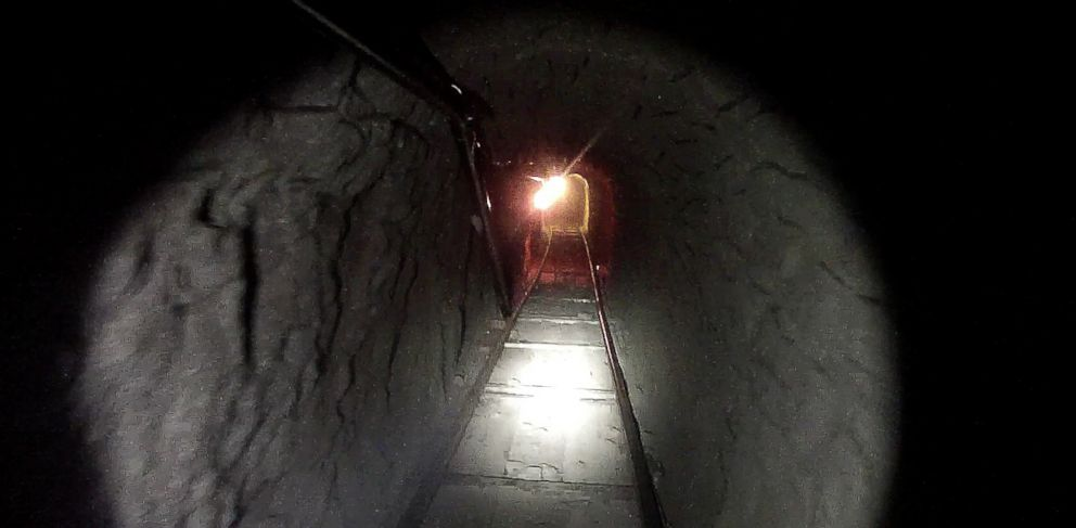 PHOTO: A sophisticated tunnel between Tijuana and San Diego was found with more than eight tons of marijuana and 325 pounds of cocaine.