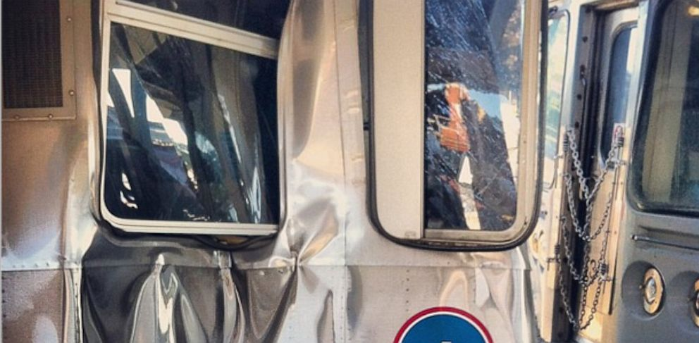 PHOTO: CTA trains collided in Chicago