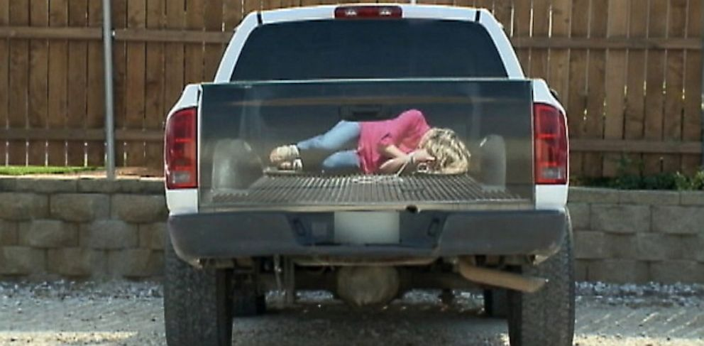 Woman Who Appears Bound, Gagged in Truck an 'Experiment in Marketing,' Sign Company Says