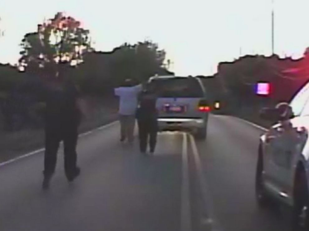 PHOTO: Video released by the Tulsa Police Department shows the moments  before 40-year
