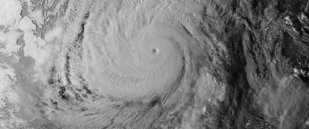 PHOTO: Super Typhoon Nuri is seen from space in this Nov. 4, 2014 image provided by NASA.