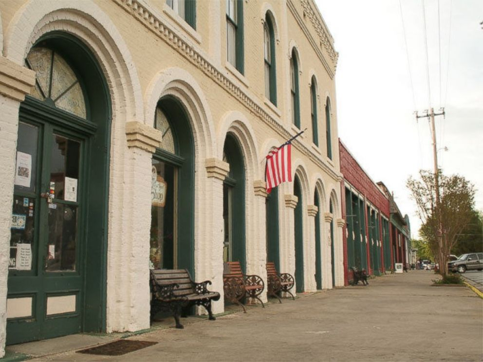 PHOTO: The downtown area of Grantville, Georgia is visible in this photo from the towns eBay listing.