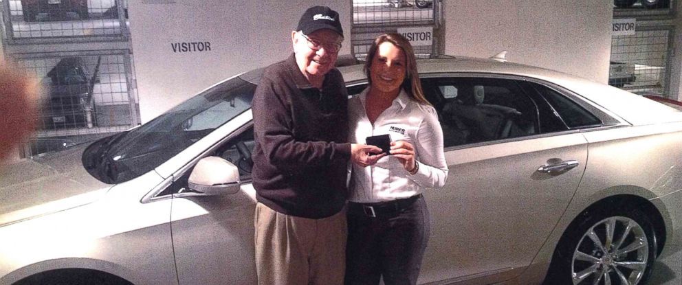 "PHOTO: Local Omaha Cadillac saleswoman impresses famous ""secret shopper."""