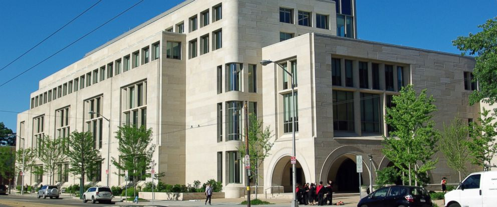 PHOTO: Wasserstein Hall at Harvard Law School in seen in this photo posted to Wikimedia Commons.