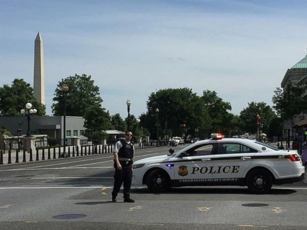 PHOTO: The Scene Near The White House Is Seen Here, May 20, 2016