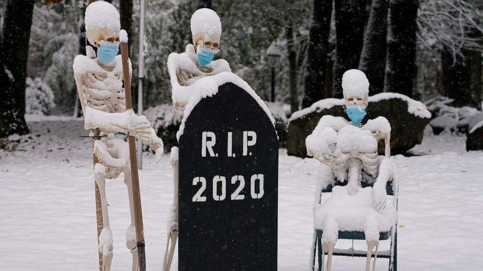 As cold settles in Northeast, Halloween forecast for much of country looks pleasant