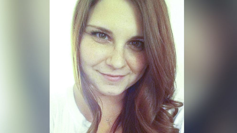 Heather Heyer, 32, was killed when a car rammed into a crowd during a march in Charlottesville, Virginia on August 13, 2017.