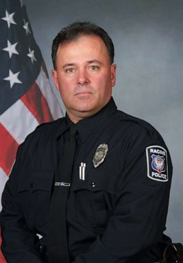 PHOTO: Racine police officer John Hetland was shot dead June 17, 2019.