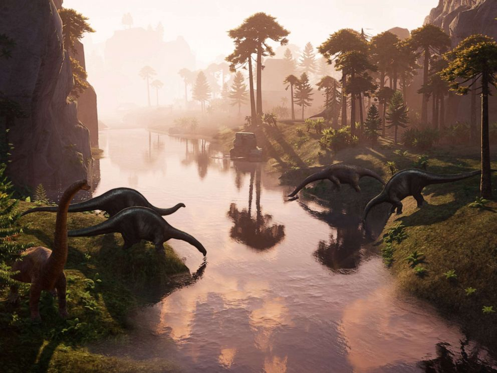 PHOTO: Image of Jurassic Flight VR experience