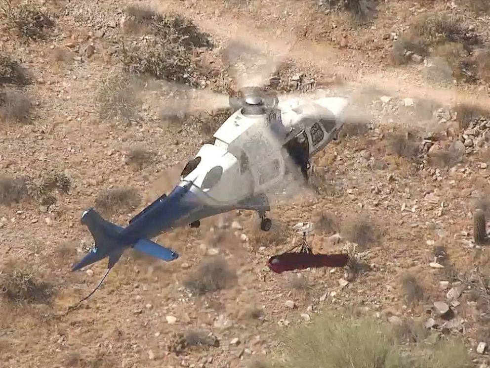 Chopper Rescue Of 74-Year-Old Woman Turns Scary As Stretcher Spins
