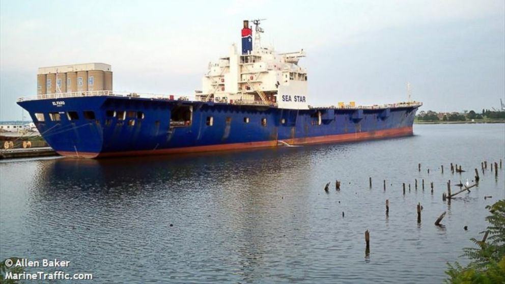 Missing El Faro Cargo Ship Sank Off Bahamas But Search For Crew Continues Abc News